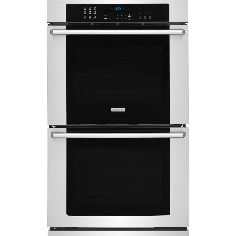 30 in. Double Electric Wall Oven with Air Sous Vide Convection