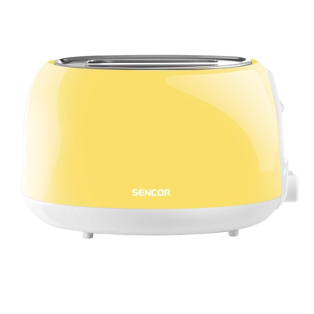 2-Slice Pastel Yellow Toaster Electronic timer - 6 toasting intensity levels, Suitable for making both thick and thin toasts. Easy to clean (slide out crumb tray). High lift function for easy removal of smaller toasts. Color: Pastel Yellow.