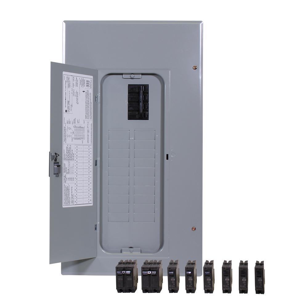 PowerMark Gold 200 Amp 20-Space 20-Circuit Indoor Main Breaker Value Kit Includes Select Circuit Breaker