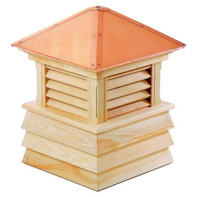 Dover 42 in. x 59 in. Wood Cupola with Copper Roof