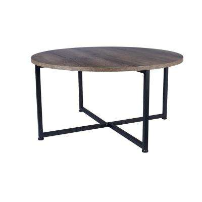 Ashwood Round Coffee Table in Light Wood