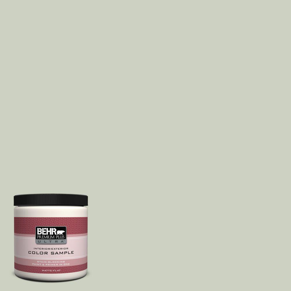 BEHR Premium Plus Ultra 8 oz. #PPU10-11 Sliced Cucumber Interior/Exterior Paint Sample