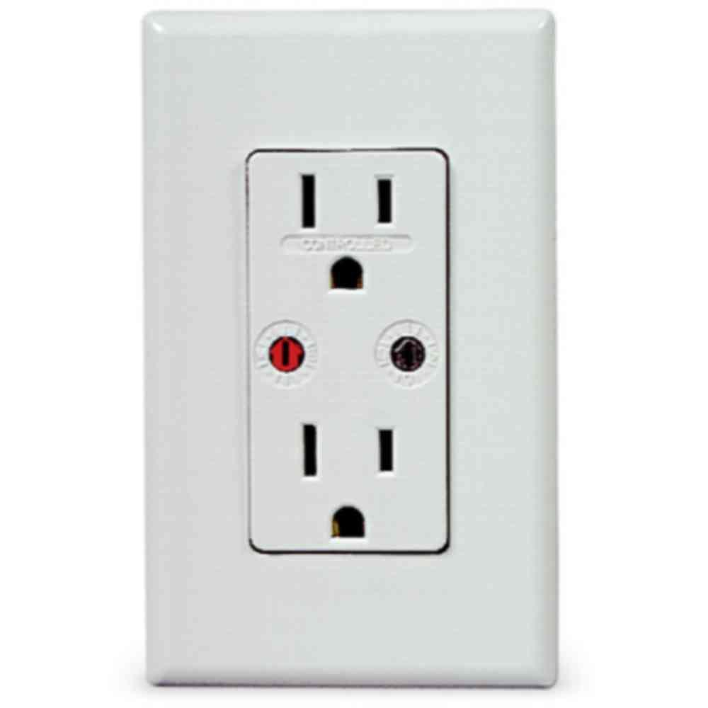 X10 White Split Receptacle Module-DISCONTINUED