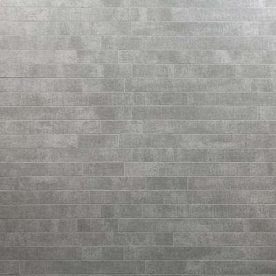 Essential Cement Ash 12 in. x 24 in. 10mm Matte Porcelain Floor and Wall Mosaic Tile (6 pieces / 11.62 sq. ft. / box)