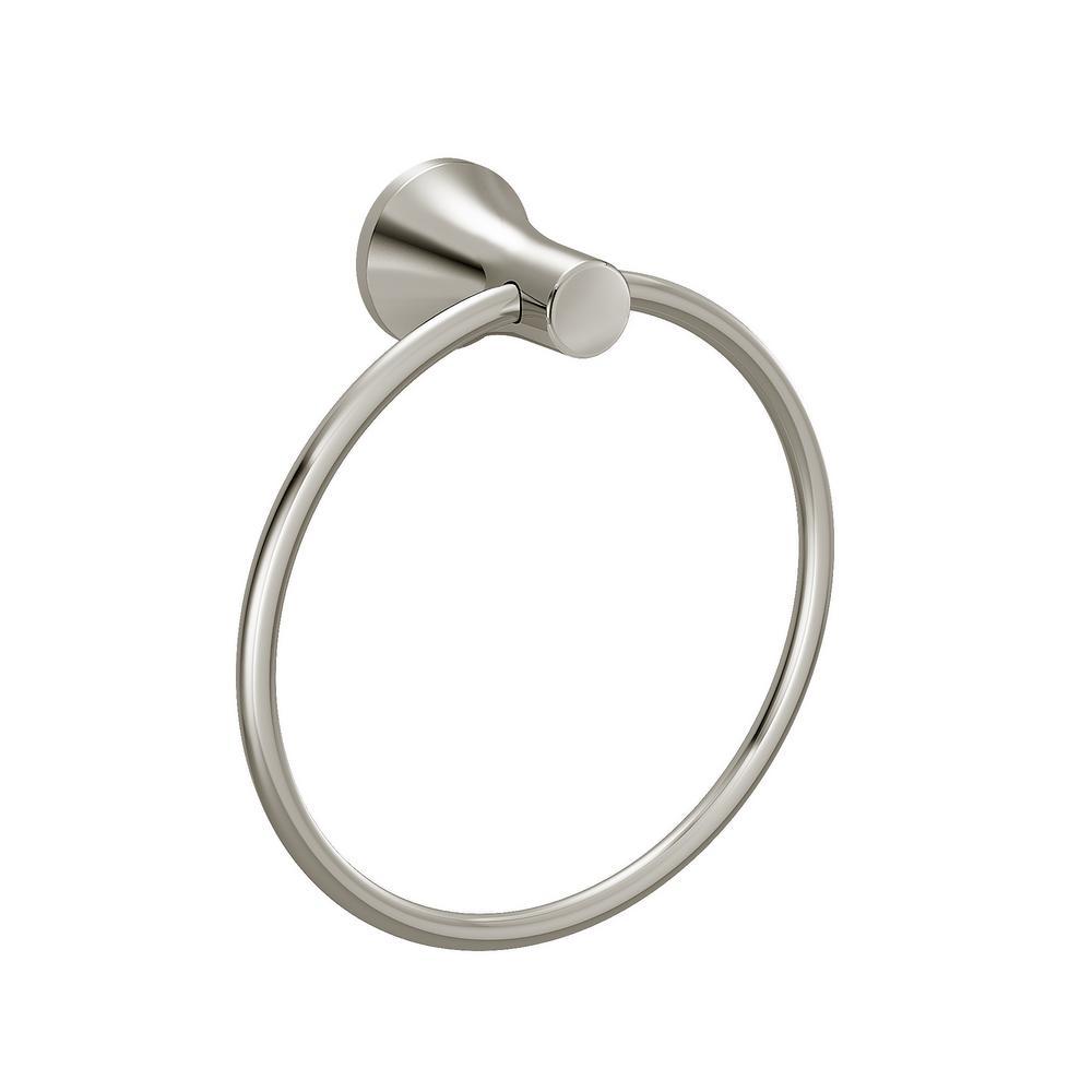 C Series Towel Ring in Polished Nickel