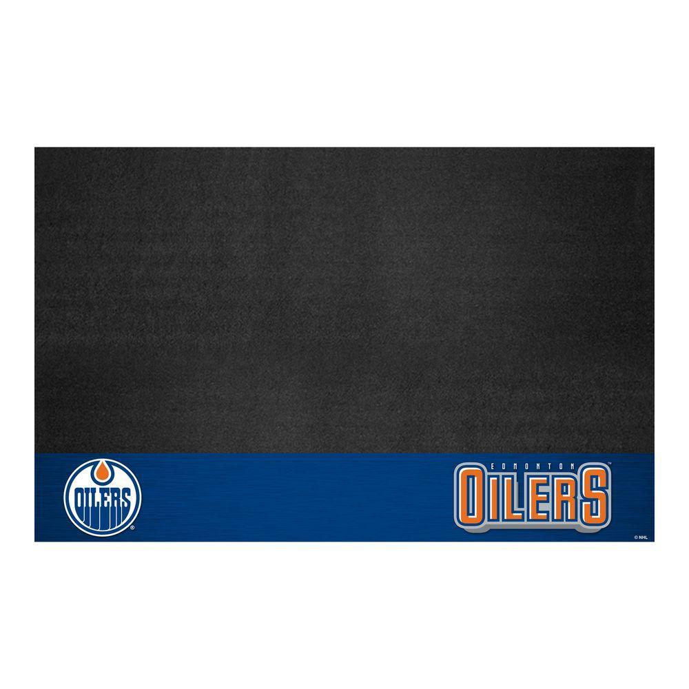 Edmonton Oilers 26 in. x 42 in. Grill Mat