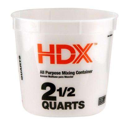 2.5 qt. Natural Multi-Mix Container (3-Pack)