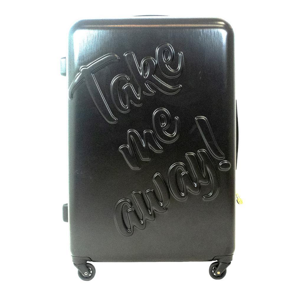 Take me Away 29 in. Black Rolling Luggage Suitcase