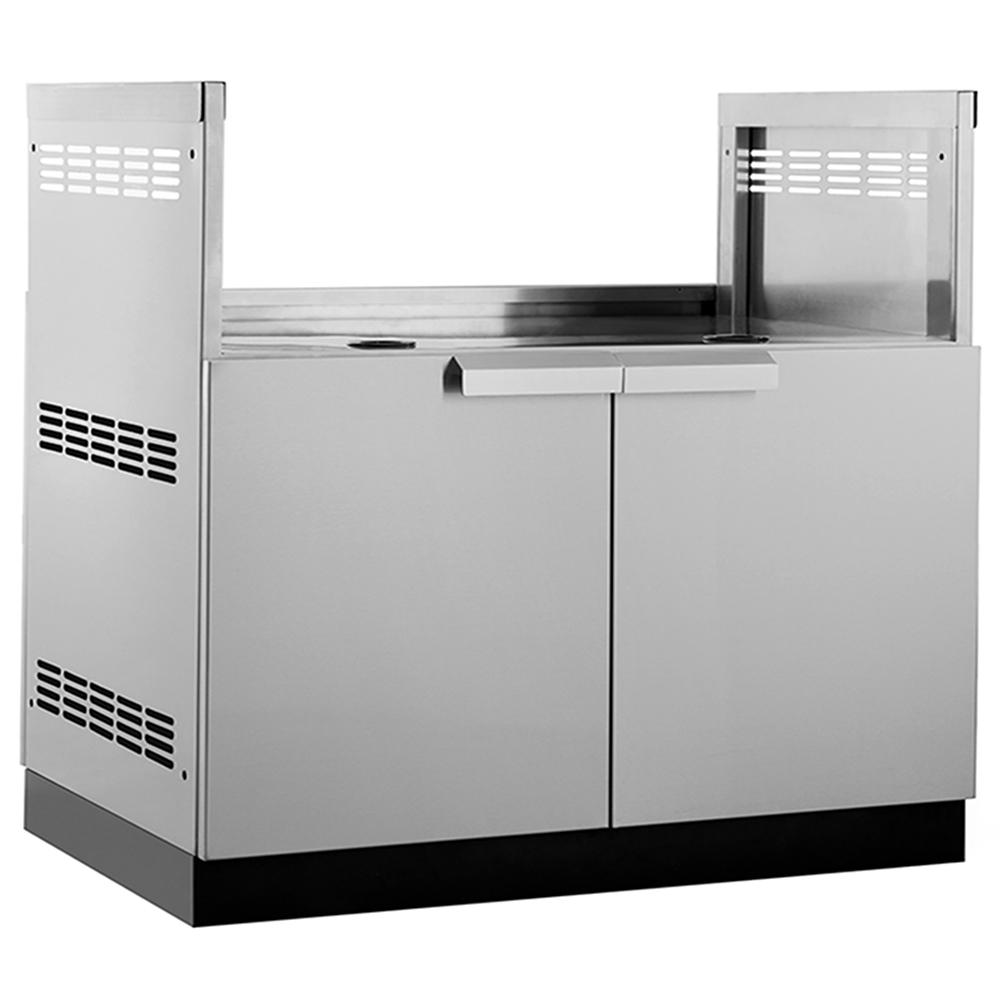 Clic Stainless Steel 40 In W X 23 D 36 5 H Insert Grill Outdoor Kitchen Cabinet