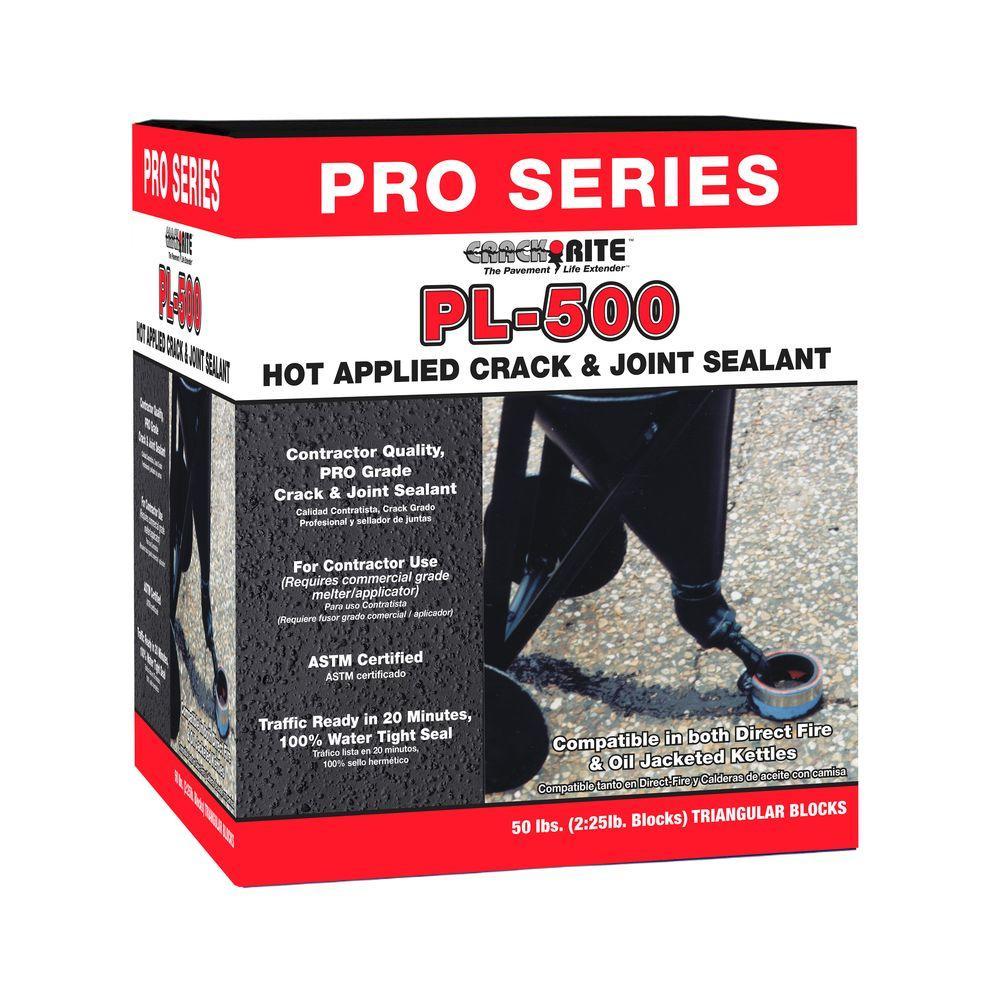 Crack-Rite 50 lb  PL-500 Hot Pour Direct Fire Joint Sealant
