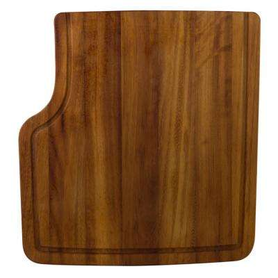 Wood Cutting Board for Kitchen Sinks