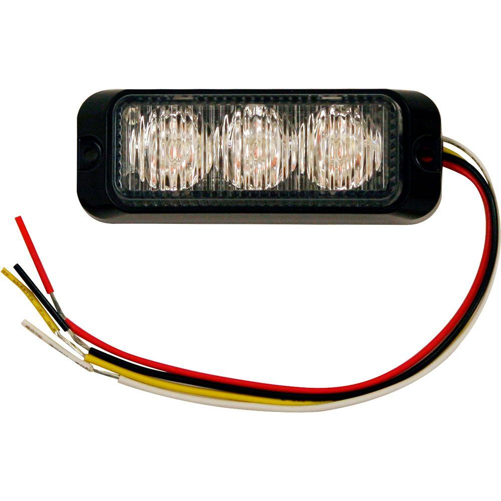 Buyers Products Company 3.875 In. Amber LED Mini Strobe