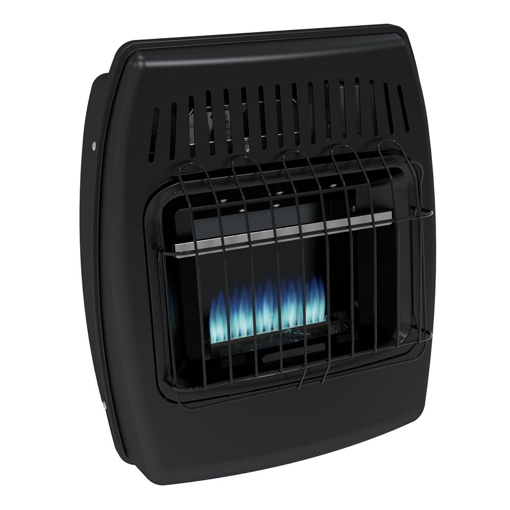 Dyna Glo 10,000 BTU Blue Flame Vent Free LP Ice House Hea...