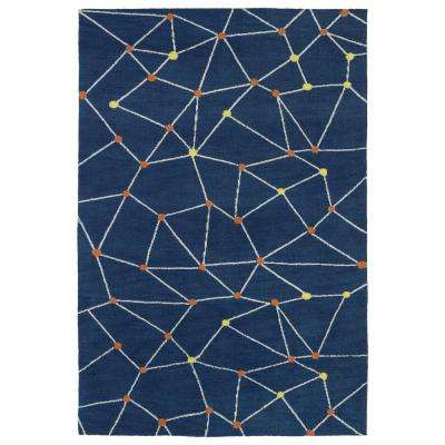Lily and Liam Denim 5 ft. x 7 ft. Area Rug