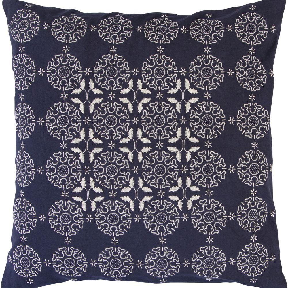 Artistic Weavers Medallion 18 in. x 18 in. Decorative Down Pillow