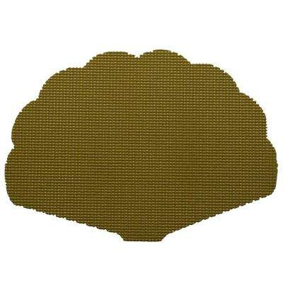 Fishnet Shell Placemat in Moss (Set of 12)