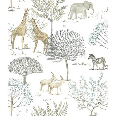 On The Savanna Paper Strippable Wallpaper (Covers 56 sq. ft.)