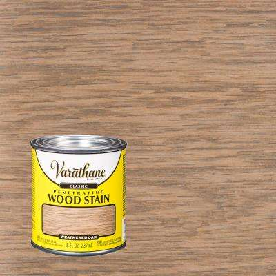 8 oz. Weathered Oak Classic Wood Interior Stain
