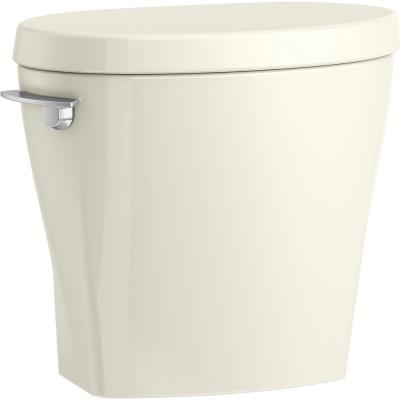 Betello 1.28 GPF Single Flush Toilet Tank Only in Biscuit