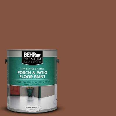 1 gal. #S210-7 October Leaves Low-Lustre Porch and Patio Floor Paint