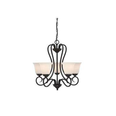 Addison 5-Light Oil Rubbed Bronze Chandelier