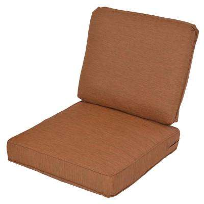 Cashew 2 Piece Deep Seating Outdoor Lounge Chair Cushion