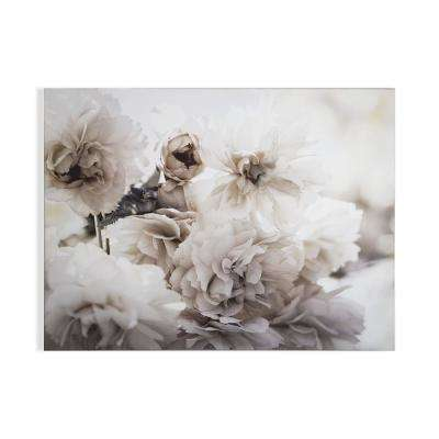"""32 in. x 24 in. """"Tranquil Blossoms"""" Printed Wall Art"""