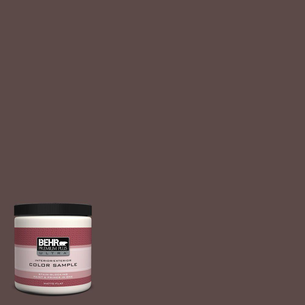 8 oz. #740B-7 Smooth Coffee Interior/Exterior Paint Sample