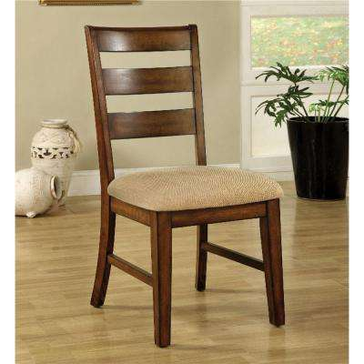 Priscilla I Antique Oak Dining Chair (Set of 2)