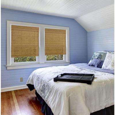 Natural Capri Bamboo Roman Shade