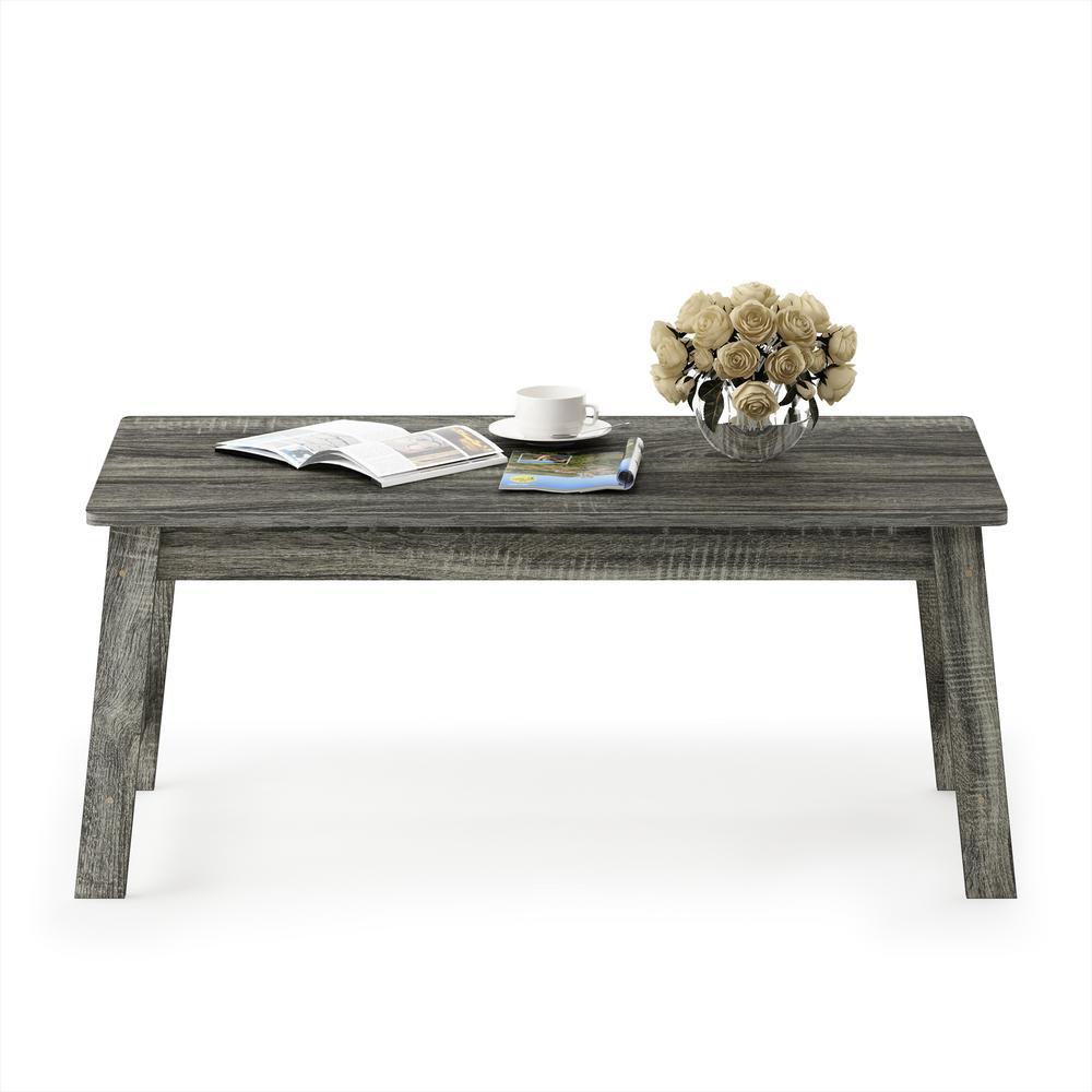 Furinno Beginning French Oak Grey Coffee Table
