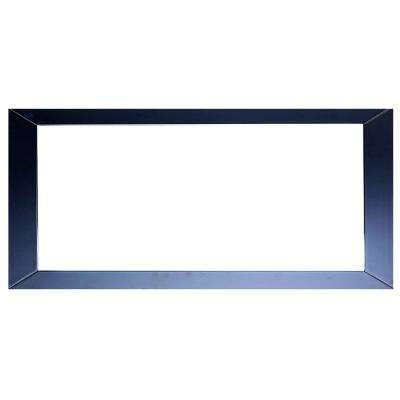 Sun 72 in. W x 30 in. H Framed Wall Mounted Vanity Bathroom Mirror in Espresso