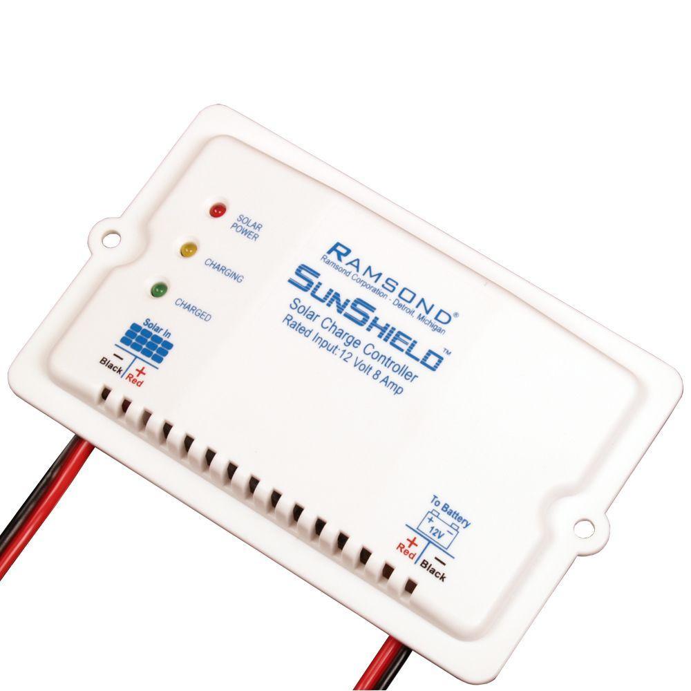 Ramsond 12-Volt 8-Amp Sunshield Solar Charge Controller