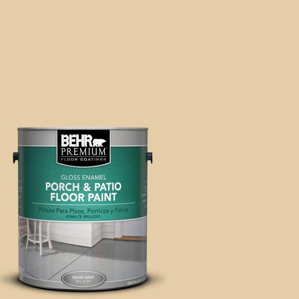 BEHR Premium 1 gal. #PFC-21 Grain Gloss Enamel Interior/Exterior Porch and Patio Floor Paint