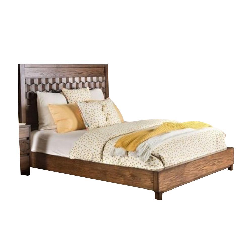 Kallisto Cal.King Bed in Chestnut Brown