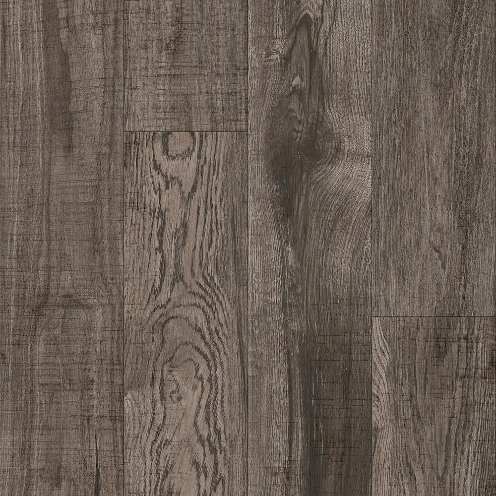 Armstrong Armstrong American Home Hickory Greige Twist 6.5 in. x 48 in. Glue Down Luxury Vinyl Plank (34.66 sq. ft. / case), Greige Twist Low Gloss