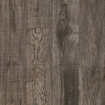 American Home Hickory Greige Twist 6.5 in. x 48 in. Glue Down Luxury Vinyl Plank (34.66 sq. ft. / case)