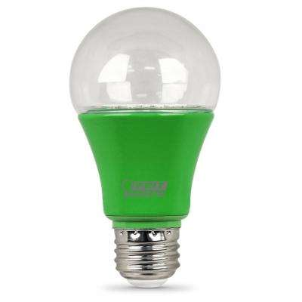 9-Watt Equivalent E26 A19 Medium Base Non-Dim Indoor and Greenhouse Full Spectrum Plant Grow LED Light Bulb (1-Bulb)