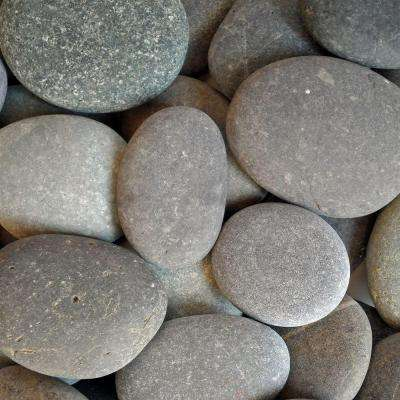 0.50 cu. ft. 1/2 in. - 1 in. Unpolished Black Mexican Beach Pebble