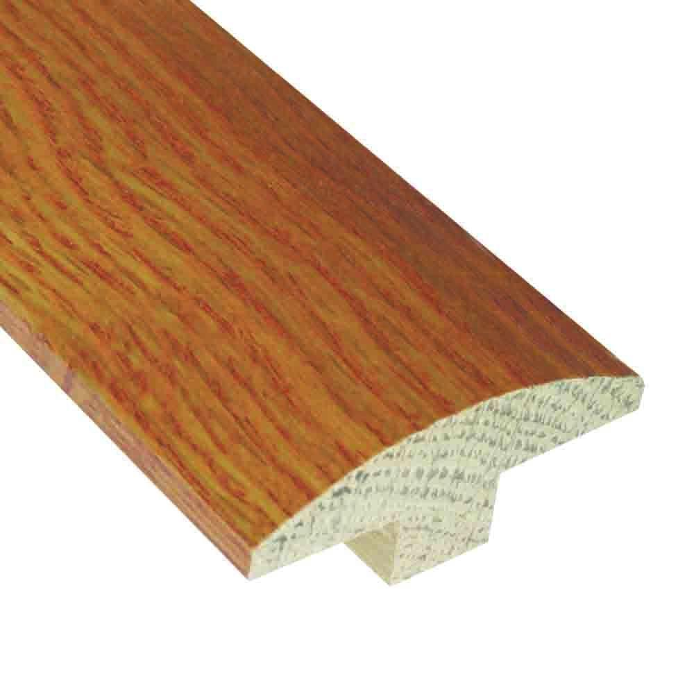Millstead Oak Toffee 3/4 in. Thick x 2 in. Wide x 78 in. Length Hardwood T-Molding-DISCONTINUED
