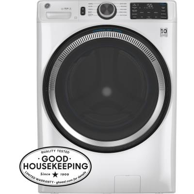 32 in. 4.8 cu. ft. White Front Load Washing Machine with OdorBlock UltraFresh Vent System and Sanitize with Oxi