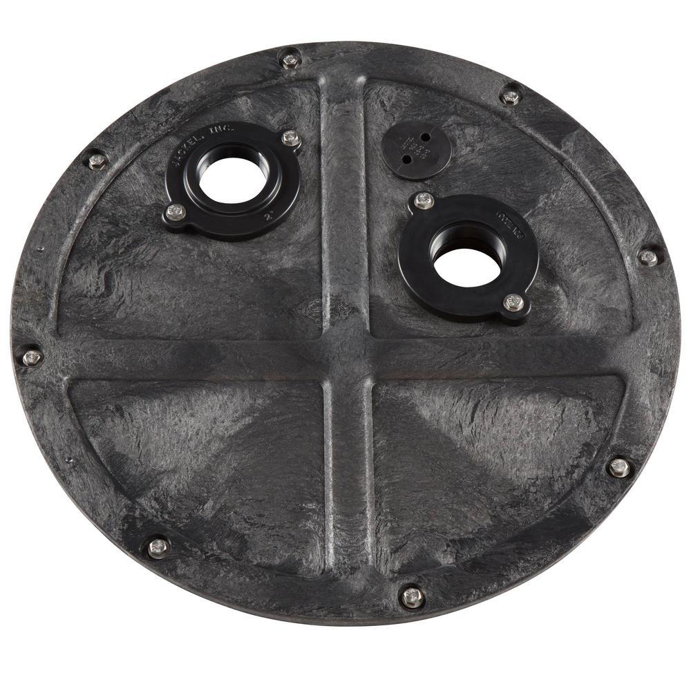 JACKEL 1//2 HP Pre-Plumbed Sump Pump System