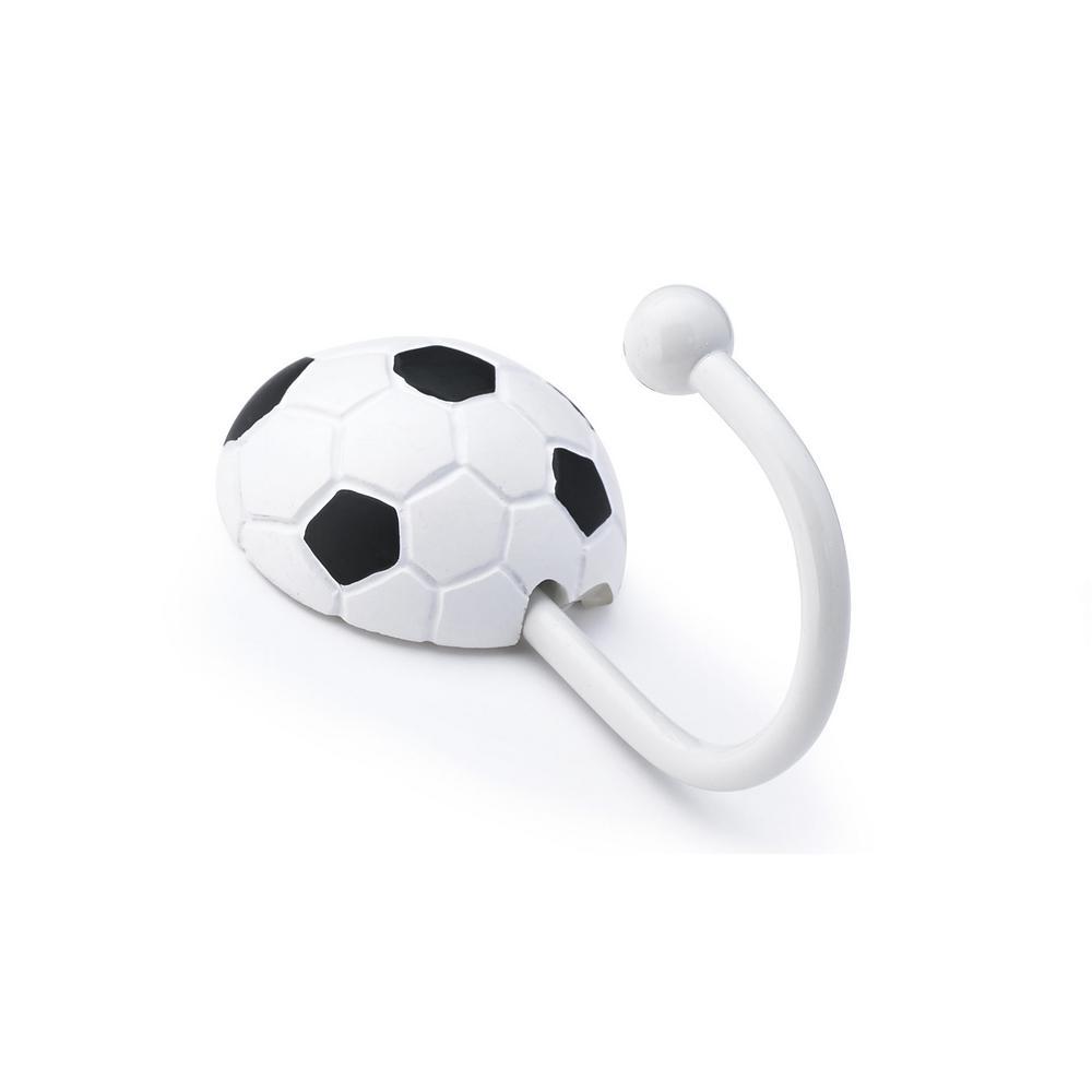 Children 3-5/8 in. Soccer Ball Decorative Hook