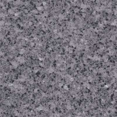 2 in. x 2 in. Solid Surface Countertop Sample in Volcanic Ice