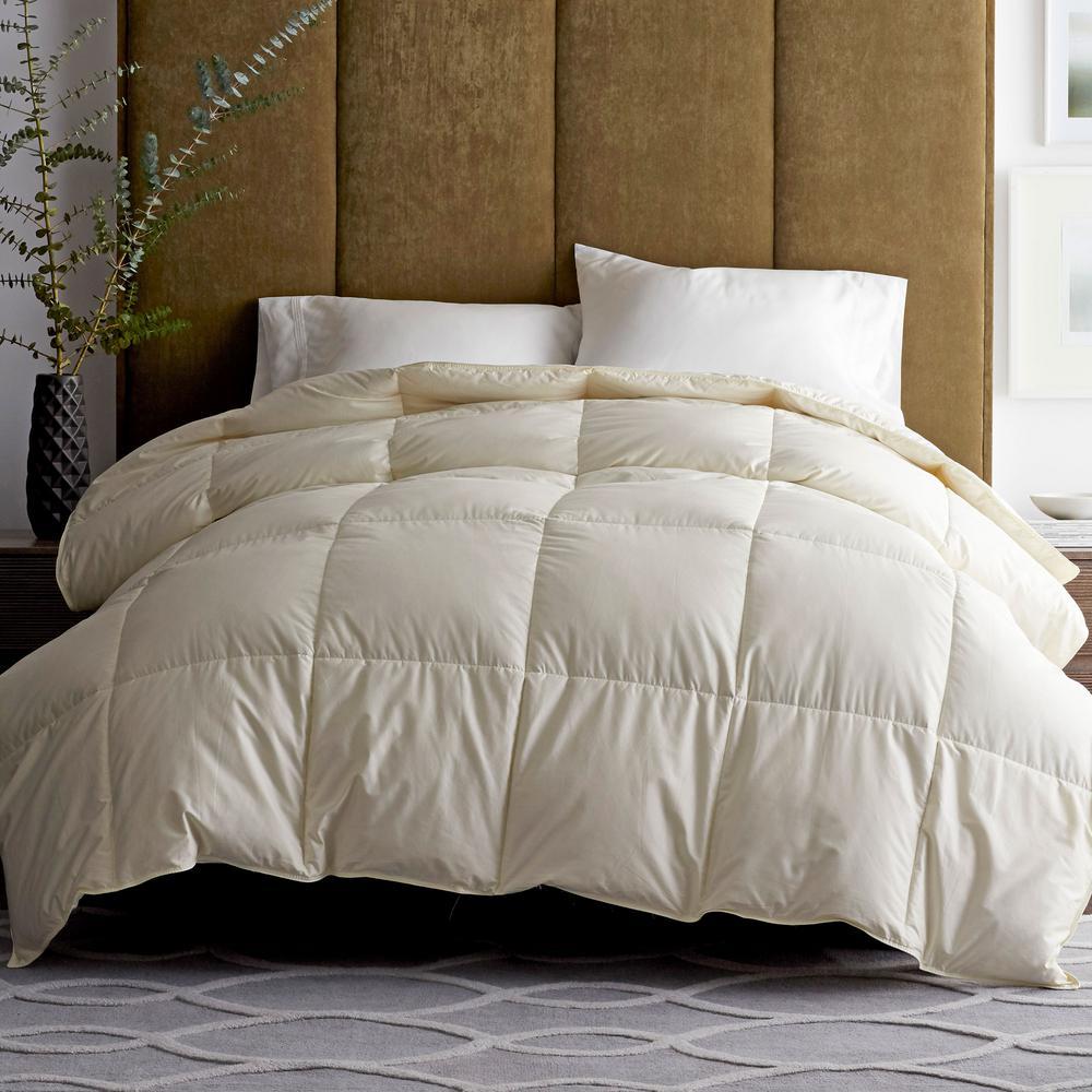 Legends® Luxury Geneva Hungarian White Goose Down Baffled Comforter