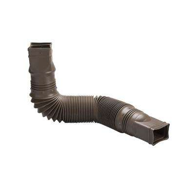 Brown Downspout Extension
