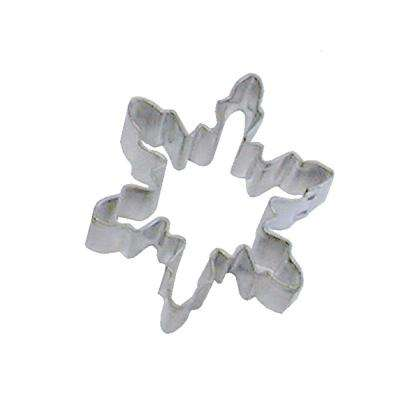 12-Piece Mini Snowflake Cookie Cutter #1 Tinplate Steel, & Recipe