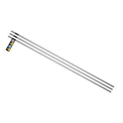 High Pressure 3/8 in. x 2 ft. Stainless Steel Tubing (3-Pack)