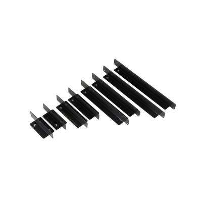 15 in. Multi-Size Steel Magnetic Drawer Divider, Black (8-Piece)