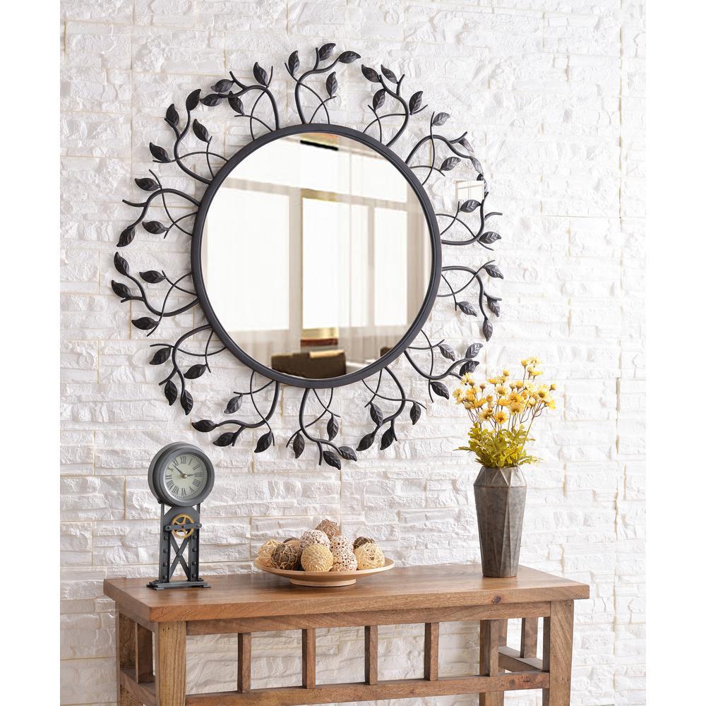 Kenroy Home Ashlen Bronze Decorative Wall Mirror